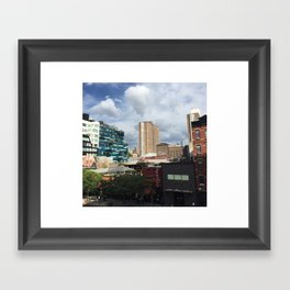 these little town blues are melting away Framed Art Print
