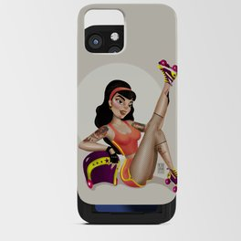 M&m Designs - Rollergirl Pin-up iPhone Card Case