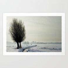 Frozen I Art Print