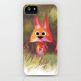 Lost Fox iPhone Case