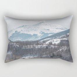 Etna volcano Rectangular Pillow
