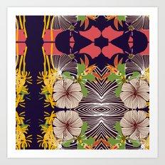 kaleidoscope 01 Art Print