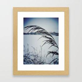 Frozen Roma Framed Art Print
