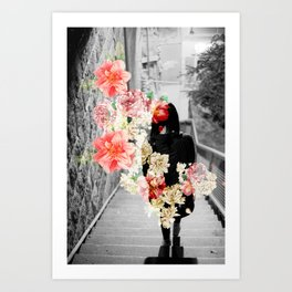Poppy and Memory II Art Print
