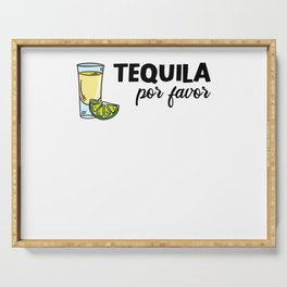 Cinco De Mayo Tequila Lemon Alcohol Orange Serving Tray