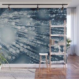 Shower head with running water closeup Wall Mural