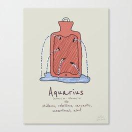 Aquarius V2 Canvas Print