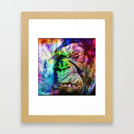 Big ape Framed Art Print