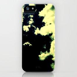 Clouds Above iPhone Case
