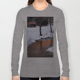 Creek Cottage Long Sleeve T-shirt