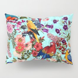 Floral and Birds XI Pillow Sham