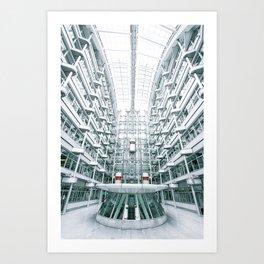 Erhard Ludwig Haus Art Print