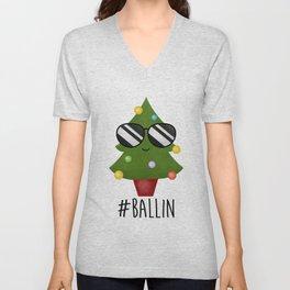 #Ballin Unisex V-Neck