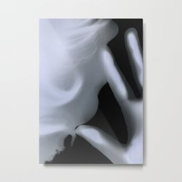 Two-Faced Ghost Metal Print