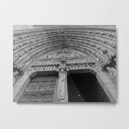 Notre Dame de Paris Metal Print
