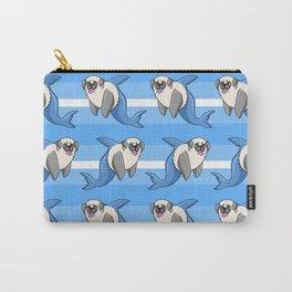 Sharky Pug Carry-All Pouch