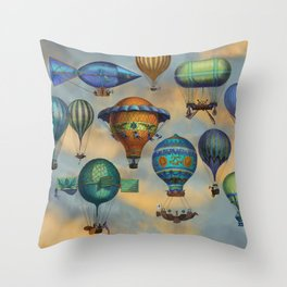 Aviation Flotation Throw Pillow