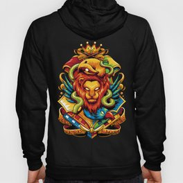 Harry Potter : Hogwarts Houses Hoody