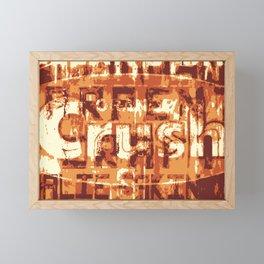 Crush Framed Mini Art Print