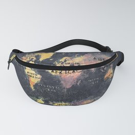 world map 12 Fanny Pack