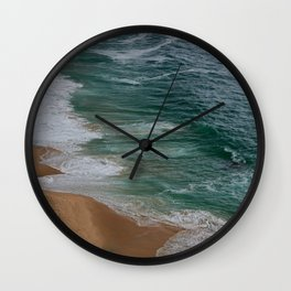 Marvelous Marbled Waves Wall Clock