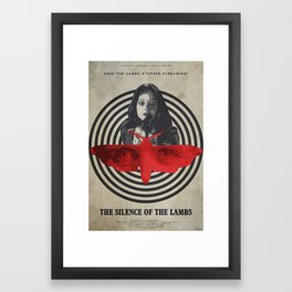 Fava Beans - The Silence of the Lambs Framed Art Print