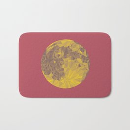 Chinese Mid-Autumn Festival Moon Cake Print Bath Mat