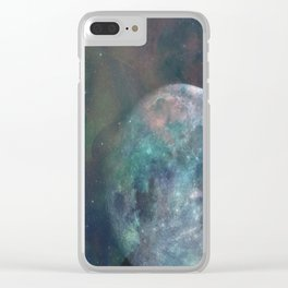 Solstice Moon Clear iPhone Case
