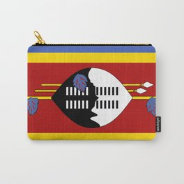 Flag of Swaziland Carry-All Pouch