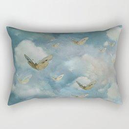 """""""Heaven & butterflies"""" Rectangular Pillow"""