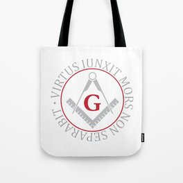 Freemasonry symbol Tote Bag