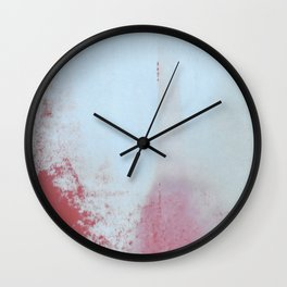 Red Regret Wall Clock