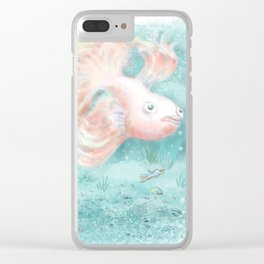 Betta Fish Clear iPhone Case