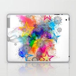 Color blobs by Nico Bielow Laptop & iPad Skin