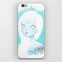 cancer iPhone & iPod Skins featuring CANCER ♋ by ⋆ cla ⋆