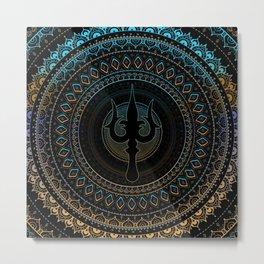 Trisula  -Trident of Shiva Metal Print