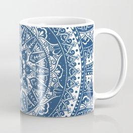 Blue Mandala Pattern Coffee Mug