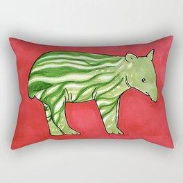 Baby Tapir-melon Rectangular Pillow