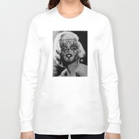 monroe Long Sleeve T-shirts featuring Monroe by mothafuc