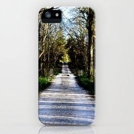 Enter Aux Sable iPhone Case