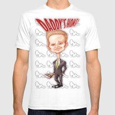 The legendary...Barney Stinson! Mens Fitted Tee MEDIUM White