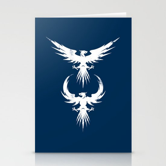 thunderbirds Stationery Cards