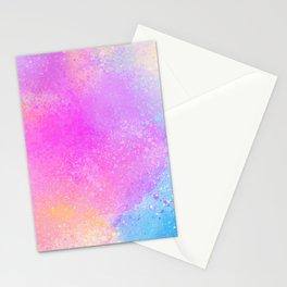 Bubble Gum Fantasy Color Artwork Stationery Cards