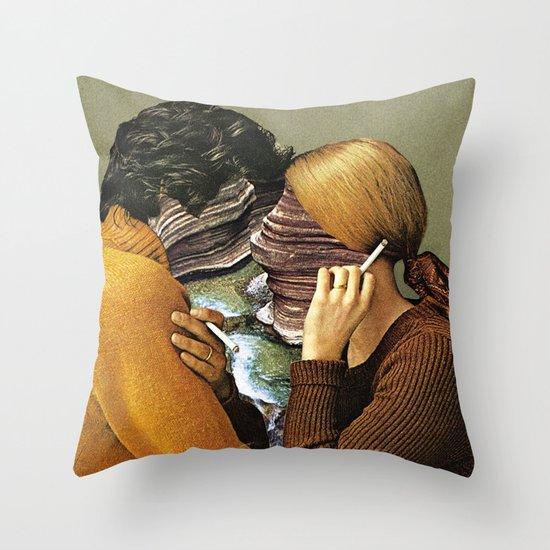 A Creek Between Us Throw Pillow