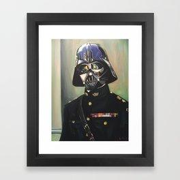 Colonel Vader Framed Art Print