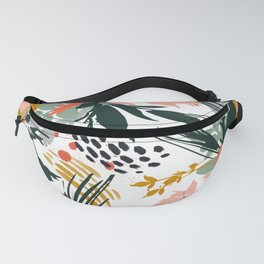 Botanical brush strokes I Fanny Pack
