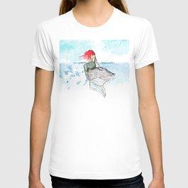 Mermaid - watercolor version T-shirt