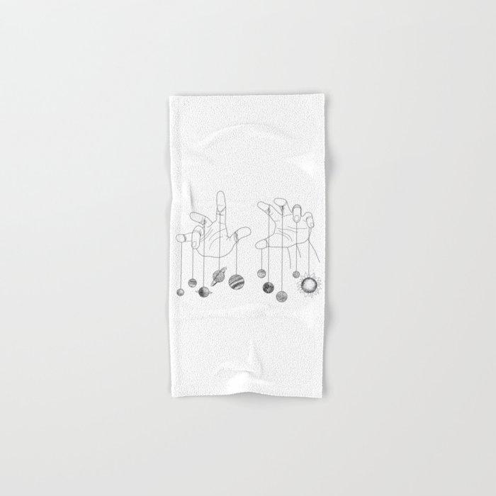 Solar System II Hand & Bath Towel