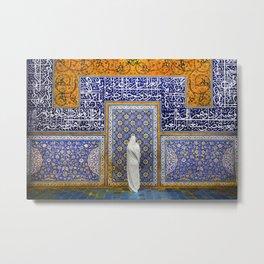 Persian silhouette Metal Print