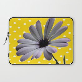 Collage de Flor y diseño Laptop Sleeve